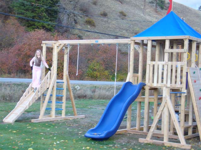 Play on our new Playground thats built for all ages