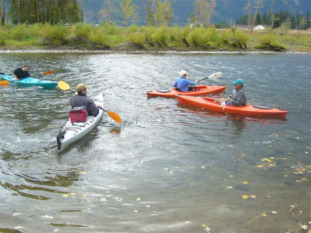 Kayaking in our Kettle River